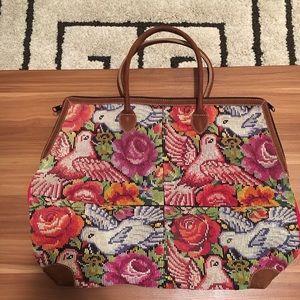 Mexican crochet bag, Kilim, Boho, Bohemian, Mexico